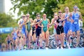 Aussie triathletes in fine Games form