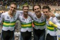 Double team pursuit triumph at World Cup