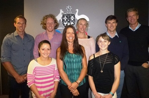 AOC Athletes' Commission 2012 (minus Meares and O'Grady)