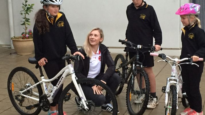 Children enjoy safe cycling with 'Let's Ride'