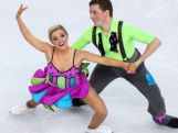 Australia's Ice Dancers Danielle and Greg
