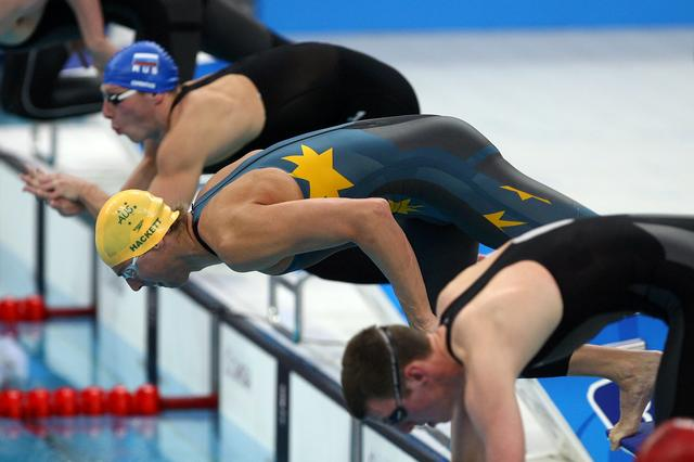 Australian olympic committee synchro swimming for Beijing swimming pool olympics