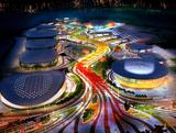An artist's impression of Barra Olympic Park in Rio which will be the biggest hub of sports, hosting 15 Olympic sports and 10 Paralympic sports. AECOM