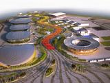An artist's impression of Barra Olympic Park. After the Games, Barra Olympic Park will be a great legacy for Brazilian sport, when it will become Brazil´s first Olympic Training Centre.