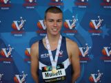 Michael Mullett is part of a 20-strong athletics team heading to the YOG.