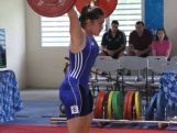 Weightlifter Kiana Elliot performs her best at the 2014 Youth Olympic Games qualification event in New Caledonia to seal her spot at the YOG in Nanjing, China.