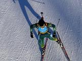 Lachlan Porter of Australia competes at the Biathlon men's 7,5 km sprint race during the Winter Youth Olympic Games at Seefeld Arena on January 15, 2012 in Seefeld, Austria.