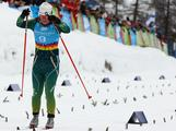 Lucy Glanville of Australia competes in the Women's Classic 5km Cross Country during the Winter Youth Olympic Games at Seefeld Arena on January 17, 2012 in Seefeld, Austria.