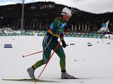 Lucy Glanville competes in the Women's Classic 5km Cross Country during the Winter Youth Olympic Games at Seefeld Arena on January 17, 2012 in Seefeld, Austria.
