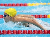 LONDON, ENGLAND - JULY 28:  Stephanie Rice of Australia swims butterfly as she competes in heat four of the Women's 400m Individual Medley on Day One of the London 2012 Olympic Games at the Aquatics Centre on July 28, 2012 in London, England.