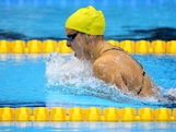 LONDON, ENGLAND - JULY 29:  Leisel Jones of Australia competes in the Women's 100m Breaststroke heat 4 on Day 2 of the London 2012 Olympic Games at the Aquatics Centre on July 29, 2012 in London, England.