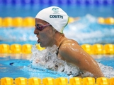 LONDON, ENGLAND - JULY 30:  Alicia Coutts of Australia competes in heat 4 of the Women's 200m Individual Medley on Day 3 of the London 2012 Olympic Games at the Aquatics Centre on July 30, 2012 in London, England.