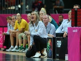 Australia head coach Carrie Graf yells out instructions during the Women's Basketball Preliminary Round match between Australia and France on day 3 of the London 2012 Olympic Games at Basketball Arena on July 30, 2012 in London, England.