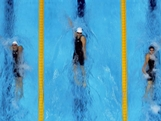(L-R) Alicia Coutts of Australia, Shiwen Ye of China and Caitlin Leverenz of the United States compete in the Women's 200m Individual Medley final on Day 4 of the London 2012 Olympic Games at the Aquatics Centre on July 31, 2012 in London, England.