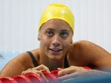 Tessa Wallace of Australia looks on after she competed in heat 4 of  the Women's 200m Breaststroke on Day 5 of the London 2012 Olympic Games at the Aquatics Centre on August 1, 2012 in London, England.