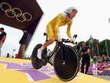 Shara Gillow of Australia in action during the Women's Individual Time Trial Road Cycling on day 5 of the London 2012 Olympic Games on August 1, 2012 in London, England.