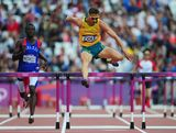Brendan Cole of Australia competes in the Men's 400m Hurdles Heats on Day 7 of the London 2012 Olympic Games at Olympic Stadium on August 3, 2012 in London, England.