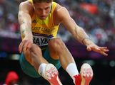 Henry Frayne of Australia competes in the Men's Long Jump qualification on Day 7 of the London 2012 Olympic Games at Olympic Stadium on August 3, 2012 in London, England.