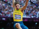 Henry Frayne of Australia competes in the Men's Long Jump Final on Day 8 of the London 2012 Olympic Games at Olympic Stadium on August 4, 2012 in London, England.