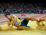 Mitchell Watt of Australia competes in the Men's Long Jump Finalon Day 8 of the London 2012 Olympic Games at Olympic Stadium on August 4, 2012 in London, England.