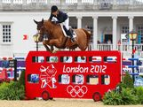 Edwina Tops-Alexander of Australia riding Itot Du Chateau competes in the 2nd Qualifier of Individual Jumping on Day 9 of the London 2012 Olympic Games at Greenwich Park on August 5, 2012 in London, England.