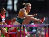 Sally Pearson of Australia competes in the Women's 100m Hurdles heat on Day 10 of the London 2012 Olympic Games at the Olympic Stadium on August 6, 2012 in London, England.
