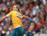Kathryn Mitchell of Australia competes in the Women's Javelin Throw Qualification on Day 11 of the London 2012 Olympic Games at Olympic Stadium on August 7, 2012 in London, England.