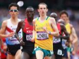 David McNeill of Australia competes in the Men's 5000m Round 1 Heats on Day 12 of the London 2012 Olympic Games at Olympic Stadium on August 8, 2012 in London, England.