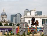Julia Hargreaves of Australia riding Vedor competes in the Individual Jumping Equestrian on Day 12 of the London 2012 Olympic Games at Greenwich Park on August 8, 2012 in London, England.