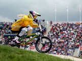 Lauren Reynolds of Australia competes during the Women's BMX Cycling on Day 12 of the London 2012 Olympic Games at BMX Track on August 8, 2012 in London, England.