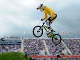Lauren Reynolds of Australia competes during the Men's BMX Cycling on Day 12 of the London 2012 Olympic Games at BMX Track on August 8, 2012 in London, England.