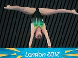 Brittany Broben of Australia competes in the Women's 10m Platform Diving Preliminary on Day 12 of the London 2012 Olympic Games at the Aquatics Centre on August 8, 2012 in London, England.