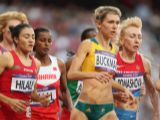 Zoe Buckman of Australia competes in the Women's 1500m Semifinals on Day 12 of the London 2012 Olympic Games at Olympic Stadium on August 8, 2012 in London, England.