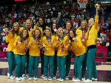 Players from Australia pose for a photo with their bronze medals during the medal cermony for the Women's Basketball  on Day 15 of the London 2012 Olympic Games at North Greenwich Arena on August 11, 2012 in London, England.