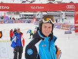 Alpine skier Ross Peraudo racing ahead of Sochi.