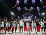 Performers take part in the Australian Youth Olympic Festival Opening Ceremony during day one of the 2013 Australian Youth Olympic Festival at Sydney Entertainment Centre on January 16, 2013 in Sydney, Australia.
