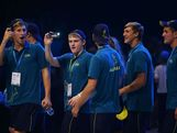 Australian athletes take part in the Australian Youth Olympic Festival Opening Ceremony during day one of the 2013 Australian Youth Olympic Festival at Sydney Entertainment Centre on January 16, 2013 in Sydney, Australia.