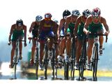 Matthew Baker of Australia leads the cycling pack in the Mens Triathlon during day three of the 2013 Australian Youth Olympic Festival at the Sydney International Regatta Centre on January 18, 2013 in Sydney, Australia.
