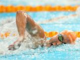Youth Olympic swimmer Ami Matsuo in action.
