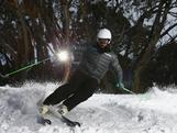 Australian Ski Cross athlete Anton Grimus poses during a portrait session at the Mount Buller Ski Resort on August 12, 2013 in Mount Buller, Australia.
