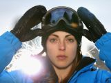 Australian skicross athlete Katya Crema poses during a portrait session on August 21, 2013 in Melbourne, Australia.