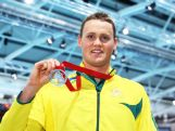 Silver medallist David McKeon of Australia poses after the medal ceremony for the Men's 400m Freestyle Final at Tollcross International Swimming Centre during day one of the Glasgow 2014 Commonwealth Games on July 24, 2014 in Glasgow, Scotland.