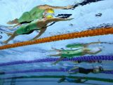 Belinda Hocking of Australia competes in the Women's 200m Backstroke heat 2 at Tollcross International Swimming Centre during day four of the Glasgow 2014 Commonwealth Games on July 27, 2014 in Glasgow, Scotland.