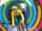 GLASGOW, SCOTLAND - JULY 31:  Shara Gillow of Australia competes in the Women's Cycling Road Time Trial at during day eight of the Glasgow 2014 Commonwealth Games on July 31, 2014 in Glasgow, United Kingdom.
