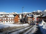 A general view of the Athletes Village ahead of the Sochi 2014 Winter Olympics on February 2, 2014 in Rosa Khutor, Sochi.