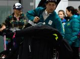Men's Cross-Country Skiing's Phillip Bellingham of Australia arrives at Sochi International Airport ahead of the Sochi 2014 Winter Olympics on February 3, 2014 in Sochi, Russia.