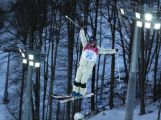 Nicole Parks of Australia competes in the Ladies' Moguls Qualification during the Sochi 2014 Winter Olympics.