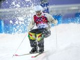 Dale Begg-Smith of Australia competes in the Men's Moguls Qualification on day three of the Sochi 2014 Winter Olympics at Rosa Khutor Extreme Park.