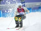 Dale Begg-Smith competes in the Men's Moguls Qualification on day three of the Sochi 2014 Winter Olympics at Rosa Khutor Extreme Park.