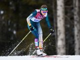 Esther Bottomley of Australia competes in Qualification of the Ladies' Sprint Free during day four of the Sochi 2014 Winter Olympics at Laura Cross-country Ski & Biathlon Center on February 11, 2014 in Sochi, Russia.